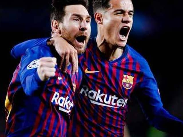 FOOTABALL: Barcelona reaches in to Semi Final of Champions league with the help of Messi brace