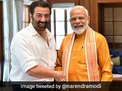 Elections 2019: PM Modi Tweets Photo With Sunny Deol. Line From '<i>Gadar</i>' Is The Caption