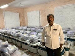 TRS Polling Agent Takes Photograph Inside EVM Strongroom, Arrested