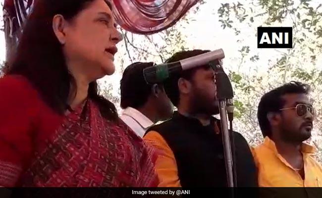 Mayawati Is 'Merchant Of Tickets', Alleges Maneka Gandhi