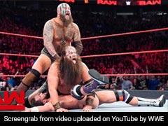 WWE Monday Night RAW: दिखा 'नरभक्षियों' का आतंक, सिर पर सींग लगाकर आए और... देखें VIDEO
