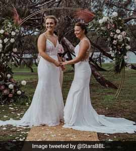 Two Women Cricketers From Australia, New Zealand Get Married. See Pic