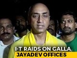 Video : Income Tax Raids Galla Jayadev, TDP Lawmaker And Candidate In Guntur