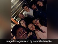 Pics: Mahesh Babu And Jr NTR Pause <i>Maharshi</i> And <i>RRR</i> To Party With Their Pals