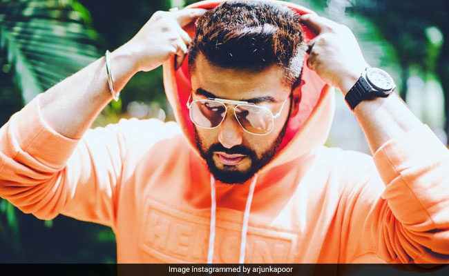 'Forget Pink,' Arjun Kapoor Is In The 'Orange Of Health.' Here's Proof
