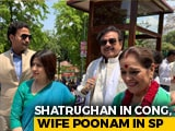 Video : Shatrughan Sinha, Congress, Will Campaign For Wife Poonam Sinha, Samajwadi Party
