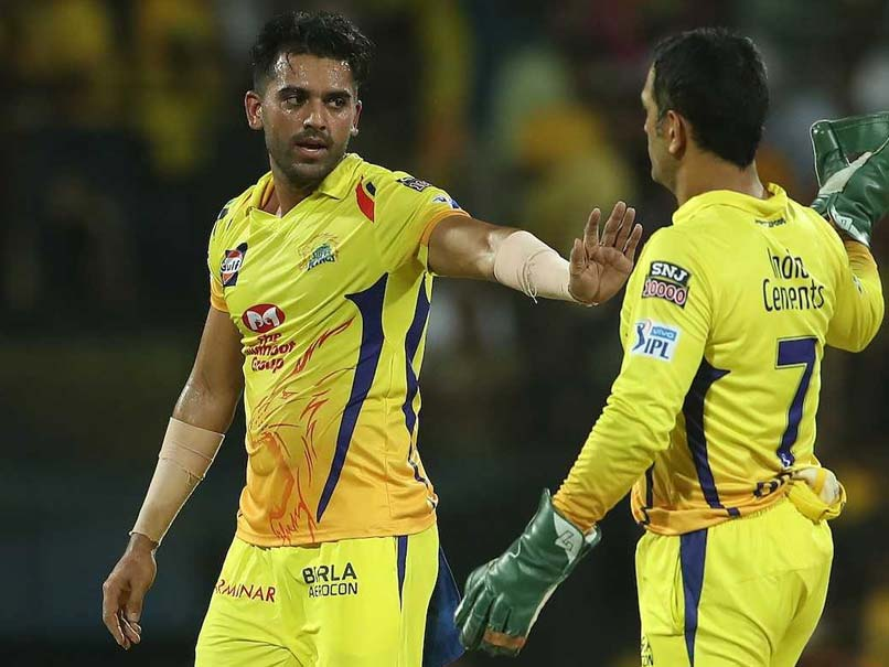 Discuss My Game With MS Dhoni While Playing Table Tennis: Deepak Chahar
