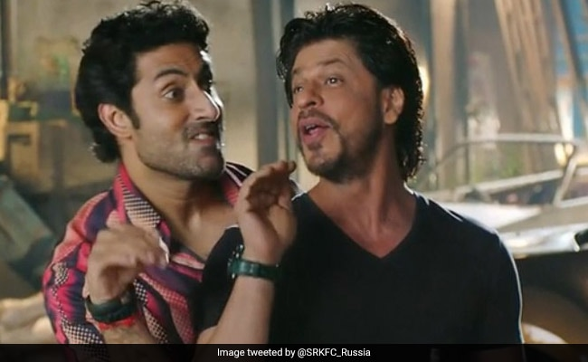 Shah Rukh Khan And Abhishek Bachchan's Twitter Conversation Will Light Up Your Monday
