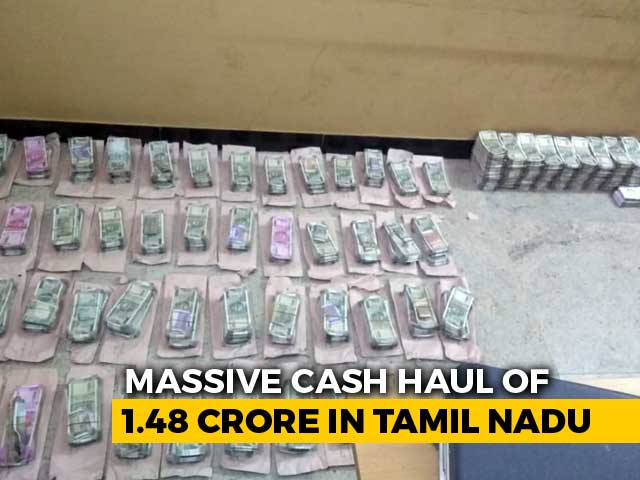 Rs. 1.5 Crore In Cash Seized From TTV Dhinakaran's Partyman In Tamil Nadu