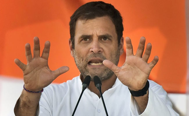 'Make In India, Start-Up India, Pakodas': Rahul Gandhi Mocks PM
