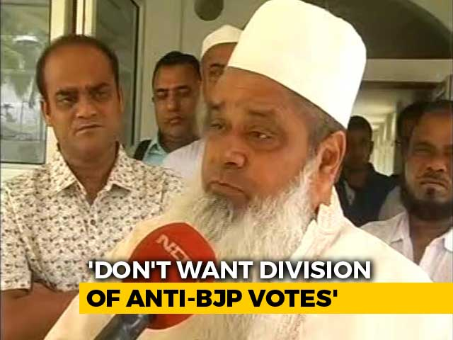 "Video : ""Congress Has Forgotten Its Gentleman's Promise"": AIUDF Chief Badaruddin Ajmal"