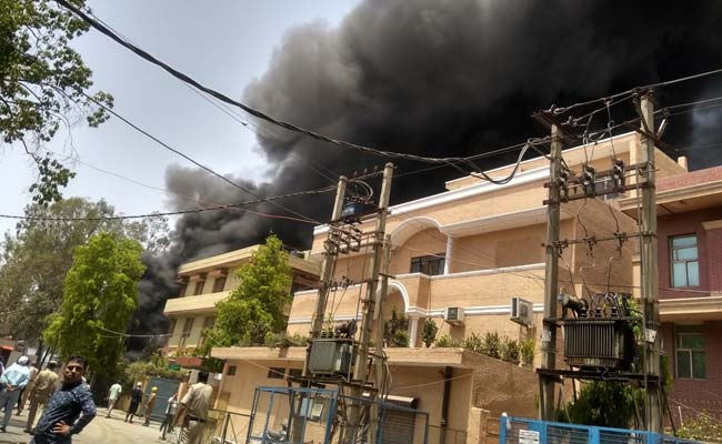 25 Rescued From Burning Pune Building, Cause Of Blaze Unknown