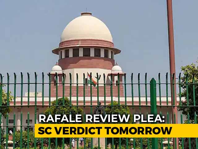 "Video : On Rafale, Top Court To Decide Whether ""Stolen"" Documents Can Be Evidence"