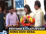 Video : Priyanka Chaturvedi Switches To Sena From Congress. It Began With A Tweet