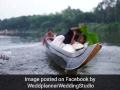 Kerala Couple Falls Into River During Wedding Shoot. Video Is Viral