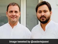 """Tejashwi Yadav Endorses Rahul Gandhi, A """"Priyanka Chopra"""" Jab At PM Also"""