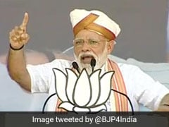 """""""Congress Responsible For Creation Of Pakistan In 1947"""", Says PM Modi"""