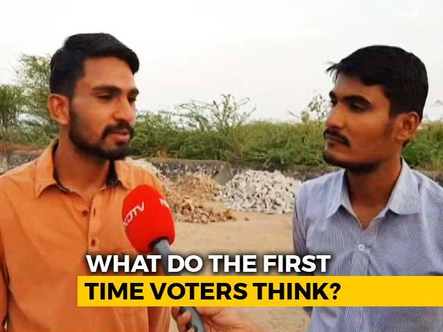 Video : In Rural Jodhpur, Young Voters Say Won't Opt For Coalition Politics