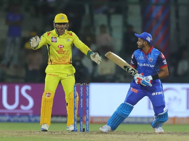 IPL 2019: Delhi Capitals Face Chennai Super Kings In Fight For Top Honours