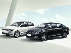 Volkswagen Polo, Ameo And Vento Get Black And White Edition