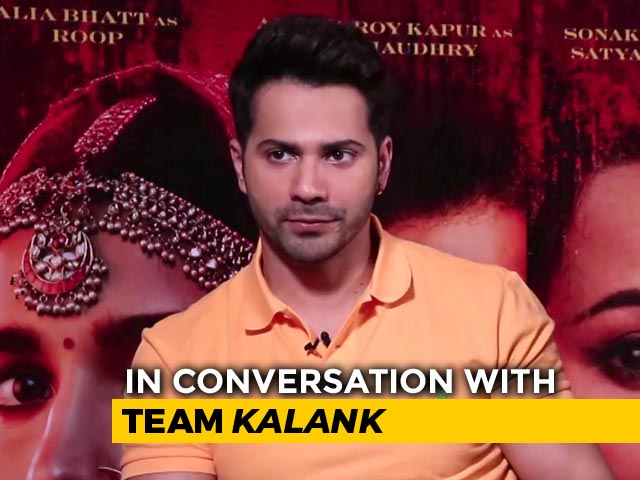 Madhuri Was Emotional After Replacing Sridevi In Kalank: Varun Dhawan