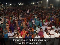 Thousands Reach Shrine Basilica In Tamil Nadu For Easter Celebrations