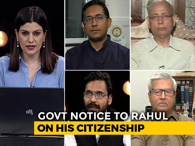 Video : BJP, Congress Duel Over Rahul Gandhi's Citizenship
