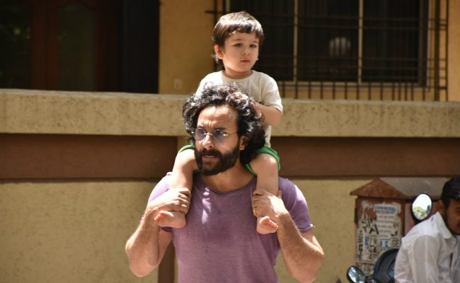 Saif Ali Khan On Cops Clearing Paparazzi Outside His House: 'Please Don't Stalk Taimur'