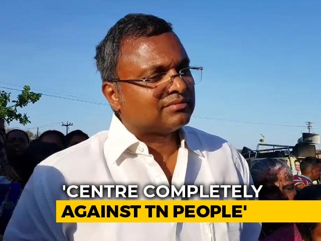 Video : Karti Chidambaram, On Campaign Trail, Says 2019 Polls All About Throwing BJP Out