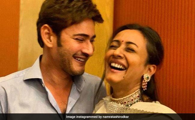 Namrata Shirodkar Is 'Addicted' To Husband Mahesh Babu. Here's Proof