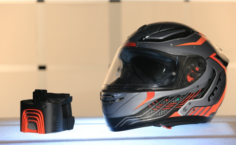BluArmor is a Bengaluru based company which manufactures helmet coolers