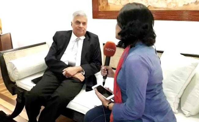 Sri Lanka PM To NDTV: