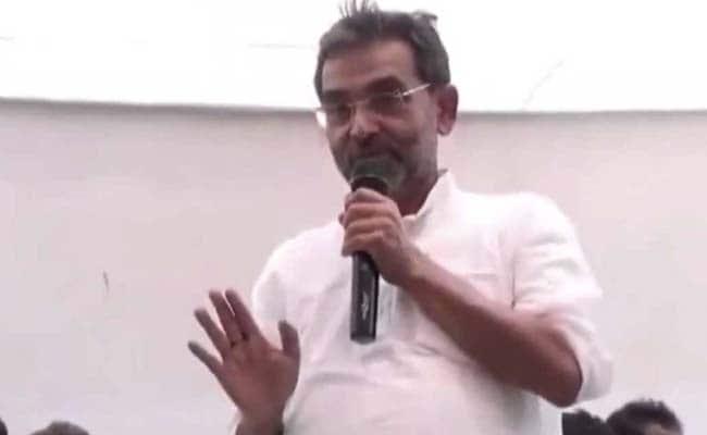 VIDEO: RLSP प्रमुख उपेंद्र कुशवाहा का विवादित बयान, समर्थकों से बोले- EVM बचाने के लिए अगर हथियार...