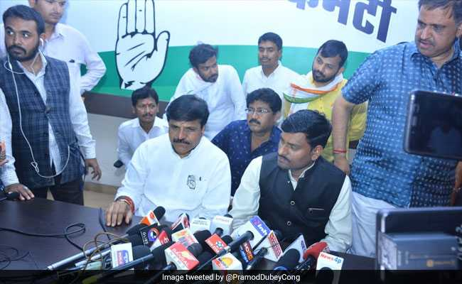 Mayawati's Party's Candidate In Raipur Announces Support For Congress