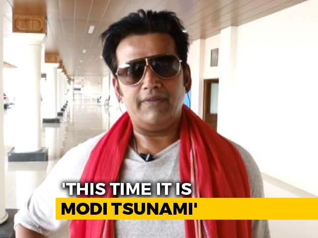 Video : Actor Ravi Kishan, Ex-Congress, On Why BJP Picked Him For Gorakhpur