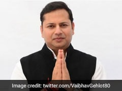 Ashok Gehlot's Son Vaibhav Gehlot Files Poll Nomination From Jodhpur Seat