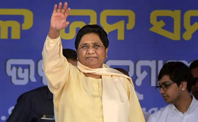 Mayawati Re-Elected BSP Chief, Says Won't 'Stop Or Bend, Let Alone Break'
