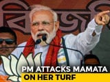 "Video : Top Job ""Not For Auction"": PM's Sharp Jab At Mamata Banerjee In Bengal"