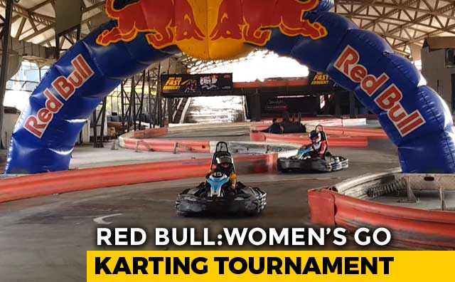 Video : Red Bull Women's Go- Karting Tournament