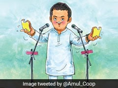"""Wayanad Have It With Butter?"": Amul's Latest Comic Features Rahul Gandhi"