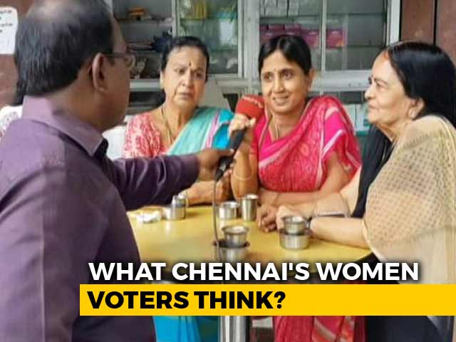 Video : Chennai Women Speak Out On Election Issues And Kamal Hassan In Politics