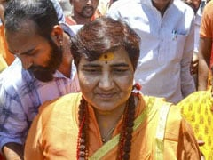 Pragya Thakur Seeks Dismissal Of Plea Seeking To Bar Her From Elections
