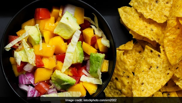 This Summer, Pair Your Chips With Mango Salsa Dip. Watch The Recipe Video Here