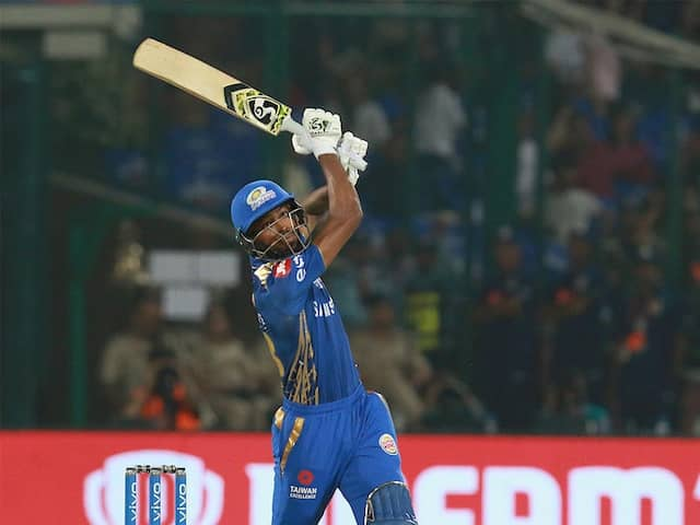Hardik Pandya Reveals MS Dhonis Reaction To His Version Of Helicopter Shot