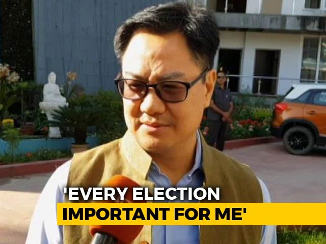 "Video : ""Citizenship Bill Won't Affect BJP's Chances"": Kiren Rijiju Tells NDTV"