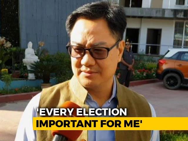 'Citizenship Bill Won't Affect BJP's Chances': Kiren Rijiju Tells NDTV