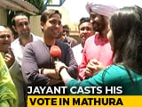 Video : Rashtriya Lok Dal's Jayant Chaudhary Casts His Vote In Mathura