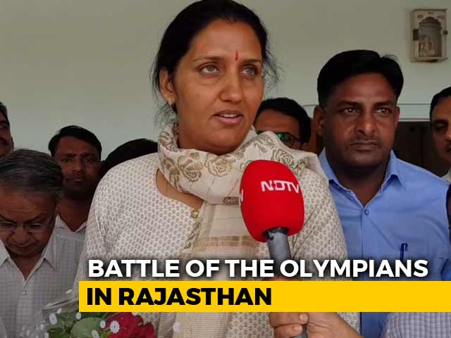 Video : Battle Of Olympians: Rajyavardhan Rathore vs Krishna Poonia In Rajasthan