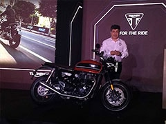 Triumph Speed Twin Launched In India, Priced At Rs. 9.46 Lakh