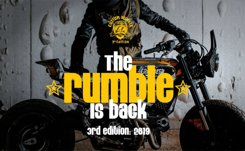 The Custom Rumble is an international custom build contest on Ducati Scrambler bikes